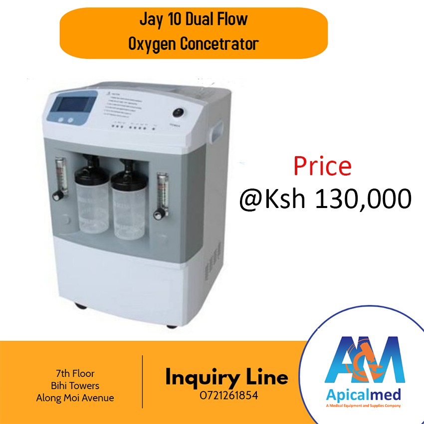 Jay-10-Dual-Oxygen-Concentrator
